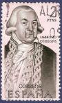 Stamps Spain -  Edifil 1941 Ambrosio O'Higgins 2