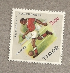 Stamps Asia - East Timor -  Fútbol