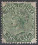 Sellos del Mundo : Africa : Mauricio : MAURICIO 1885 (S70) Reina Victoria 2c