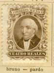 Stamps America - Mexico -  Miguel Hidalgo y Costilla ed 1863