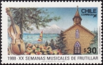 Stamps Chile -  semanas musicales