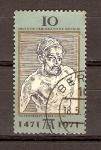 Stamps Germany -  AUTORETRATO  DE  DÜRER