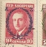 Stamps Europe - Albania -  Rey Zogu