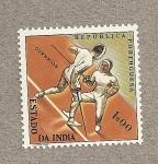 Stamps India -  Esgrima