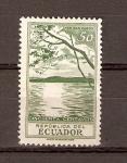 Sellos de America - Ecuador -  LAGO  SAN  PABLO