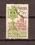 Stamps Ecuador -  RELICARIO  DE  SANTA  MARIANA  Y  EL  VATICANO