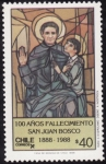 Stamps Chile -  SAN JUAN BOSCO
