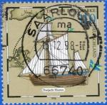 Sellos del Mundo : Europa : Alemania : ALEMANIA 1998 (S2019) Barco del correo Horten 110pf