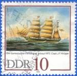 Sellos del Mundo : Europa : Alemania : DDR 1988 (S2704) Gartenlaube en Stralsund 10pf