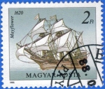 Stamps Hungary -  HUNGRIA 1988 (S3132) Mayflower 2ft