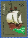 Sellos del Mundo : Europa : Polonia : POLONIA 1974 (S2038) Komisja Morska 1z