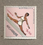 Stamps Africa - Mozambique -  Salto altura
