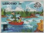 Sellos del Mundo : Africa : Lesotho : Mickey & Goofy