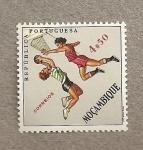 Sellos del Mundo : Africa : Mozambique : Baloncesto