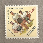Stamps Asia - East Timor -  Lucha