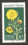 Stamps : Europe : Germany :  flor adonis vernalis