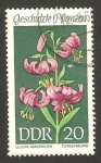 Stamps : Europe : Germany :  flor lys martagon