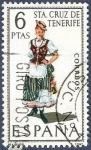 Stamps Spain -  Edifil 1953 Traje regional Sta. Cruz de Tenerife 6