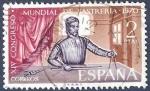 Stamps Spain -  Edifil 1988 Congreso Mundial de Sastrería 2