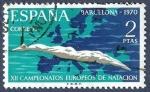 Sellos de Europa - España -  Edifil 1989 Campeonato Europeo de Natación 2