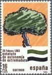 Stamps Spain -  ESTATUTOS DE AUTONOMIAS