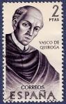 Stamps Spain -  Edifil 1998 Vasco de Quiroga 2