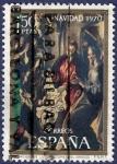 Stamps Spain -  Edifil 2002 Navidad 1970 1,50