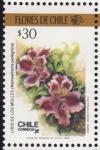 Stamps Chile -  FLORES DE CHILE