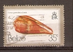 Stamps Belize -  CARACOL
