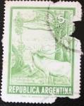 Stamps : America : Argentina :  Caza Mayor en los Lagos del Sur