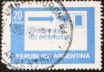 Stamps : America : Argentina :  Coloque aqui sus estampillas