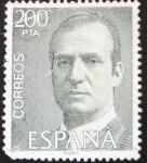 Stamps : Europe : Spain :  Juan Carlos I 200 pta