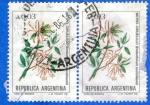 Sellos del Mundo : America : Argentina : ARGENTINA 1988 (S ) Notro-ciruello a0.03