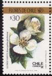 Sellos del Mundo : America : Chile : FLORES DE CHILE