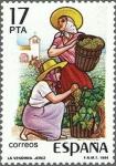Stamps Spain -  GRANDES FIESTAS POPULARES ESPAÑOLAS