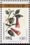 Stamps of the world : Chile :  FLORES DE CHILE