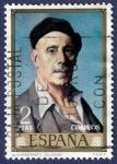 Stamps Spain -  Edifil 2022 Autorretrato de Zuloaga 2
