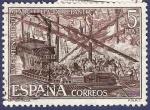 Stamps : Europe : Spain :  Edifil 2056 IV Centenario de la batalla de Lepanto 5