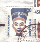 Stamps Germany -  nefertiti