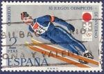 Stamps Spain -  Edifil 2074 Juegos Olímpicos de Invierno Sapporo 2