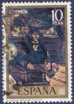 Stamps Spain -  Edifil 2083 El capitán mercante 10