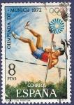 Sellos de Europa - España -  Edifil 2101 Juegos Olímpicos Munich 8