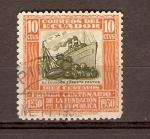 Sellos de America - Ecuador -  EXPORTACIÓN  DE  FRUTAS