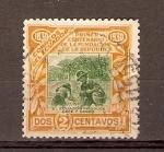 Stamps Ecuador -  RECOLECTORES  DE  CAFÉ  Y  CACAO
