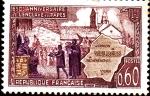 Stamps France -  aniversario del eclave des papes