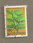 Sellos del Mundo : Africa : República_Democrática_del_Congo :  Brillantaisia patula