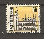 Sellos de Europa - Checoslovaquia -  Vistas de Ciudades.