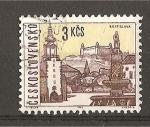 Stamps Czechoslovakia -  Vistas de Ciudades.