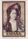 Sellos del Mundo : Europa : España : Retrato de la Sra. Canals (Picasso)