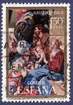 Stamps Spain -  Edifil 1944 Navidad 1969 1,50 (2)